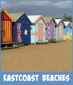 Image links to my site page on the eastcoastal beaches of Port Phillip Bay