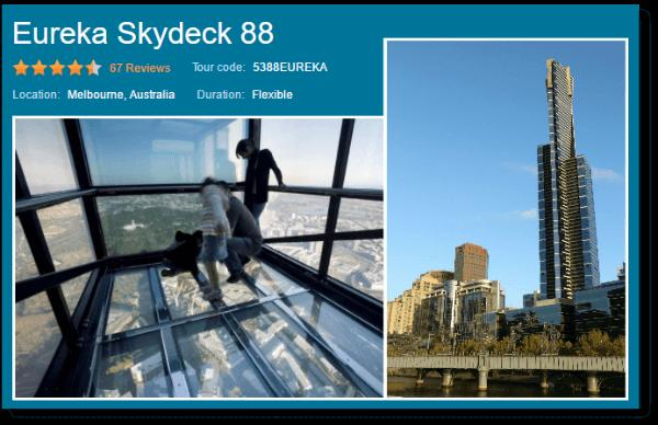 Eureka Skydeck 88 Viator tour