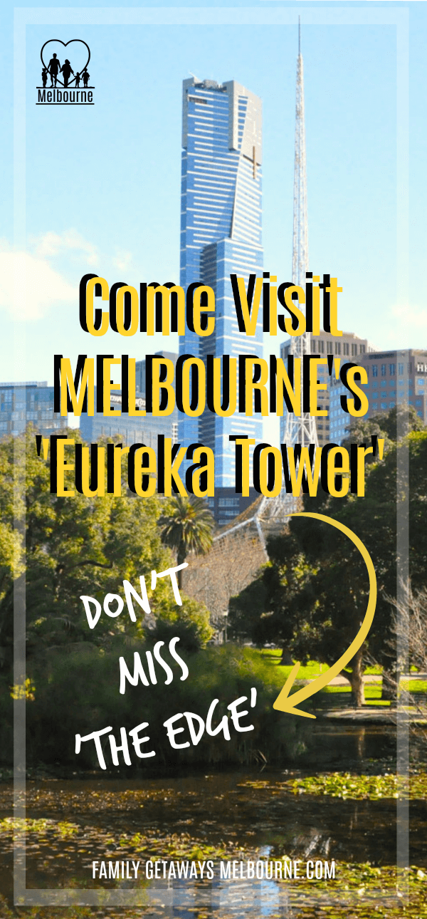 Come visit the Eureka Tower Pinterest Pin
