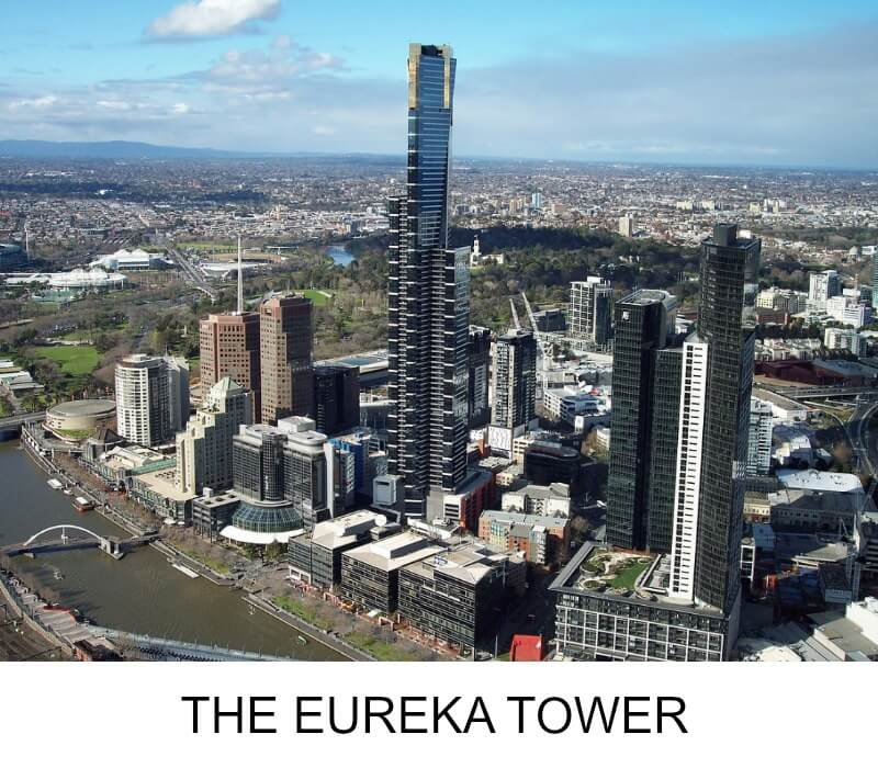 Image link to site page for more information on Melbourne's Eureka Tower