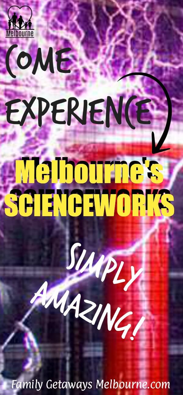 image for the Scienceworks Museum to be pinned to Pinterest