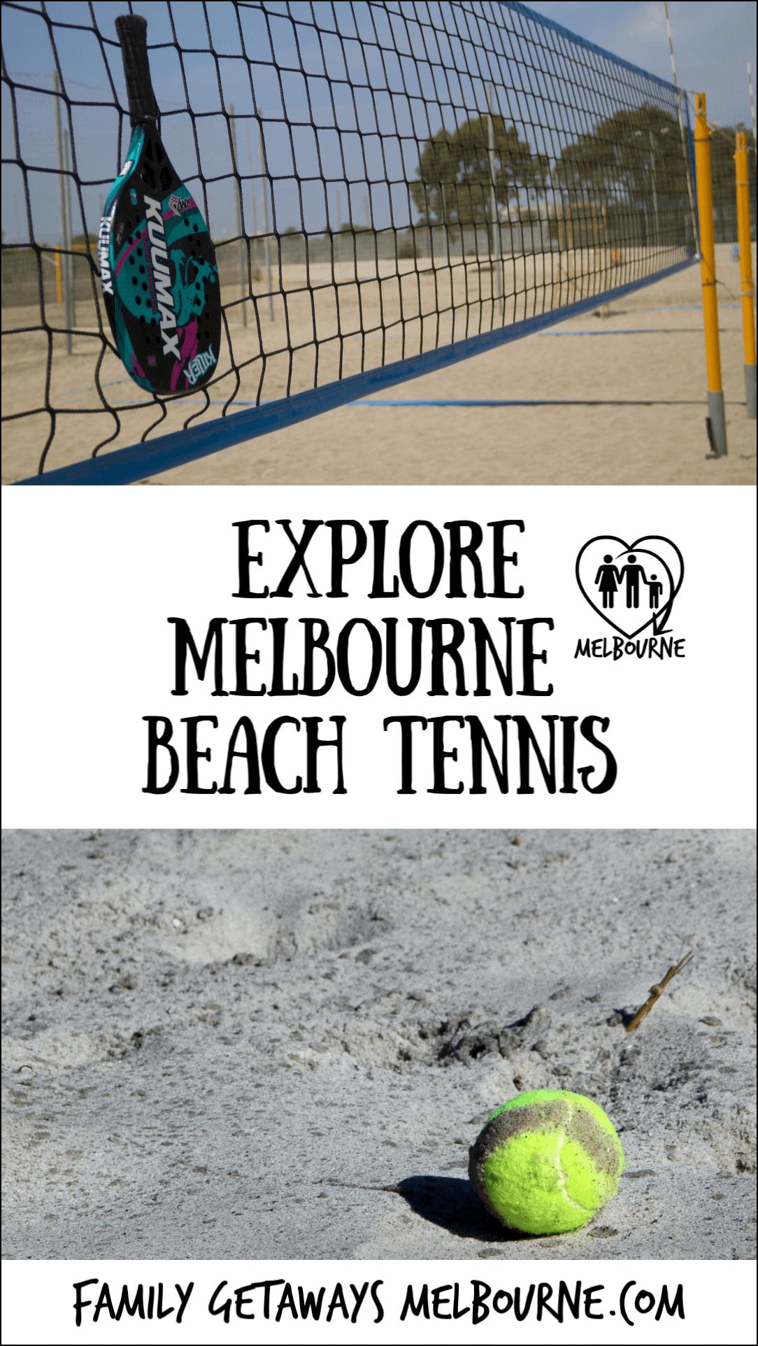 Pinterest Beach Tennis in Port Melbourne pin