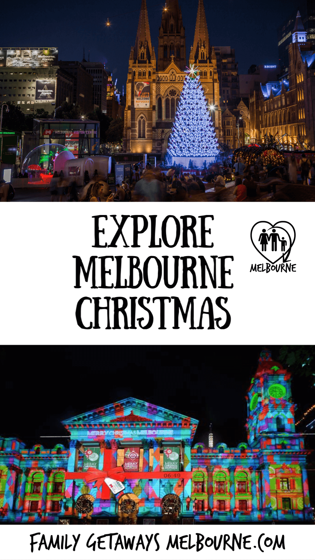 Pinterest Christmas in Melbourne pin