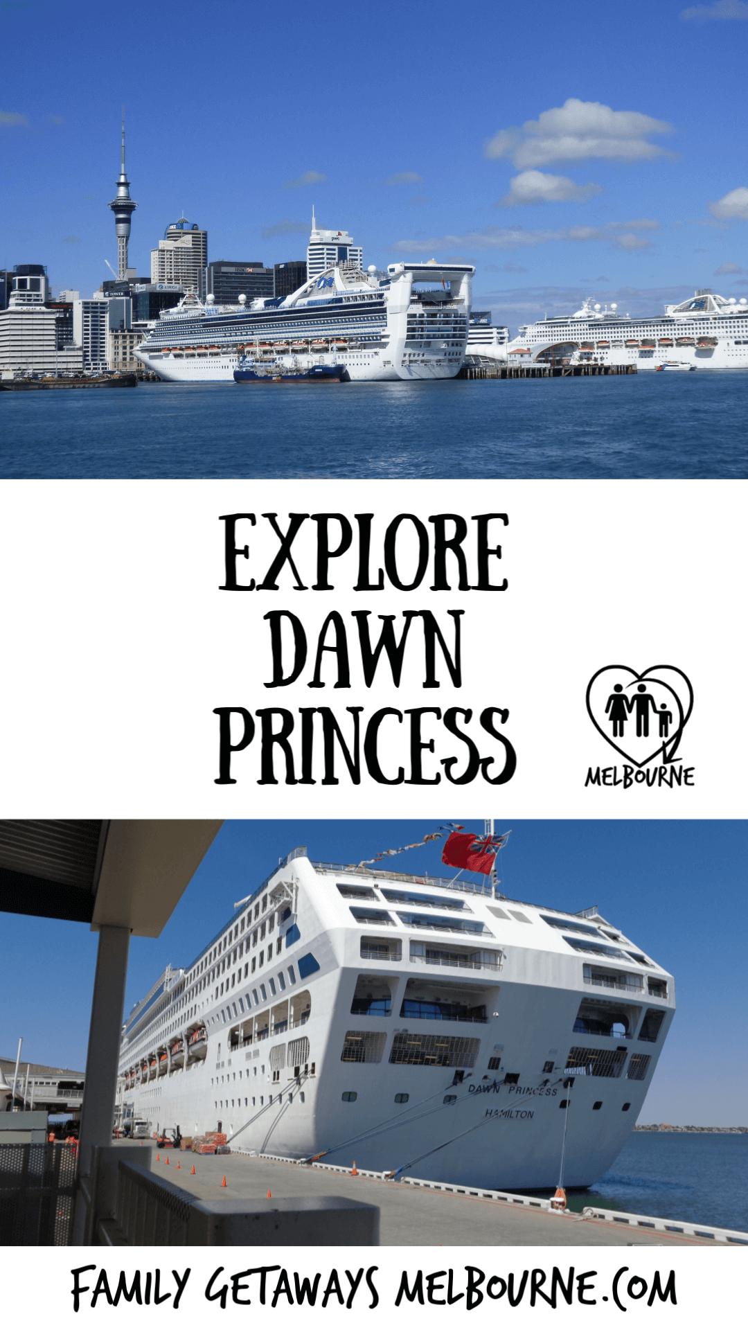 images of Dawn Princess cruise ship