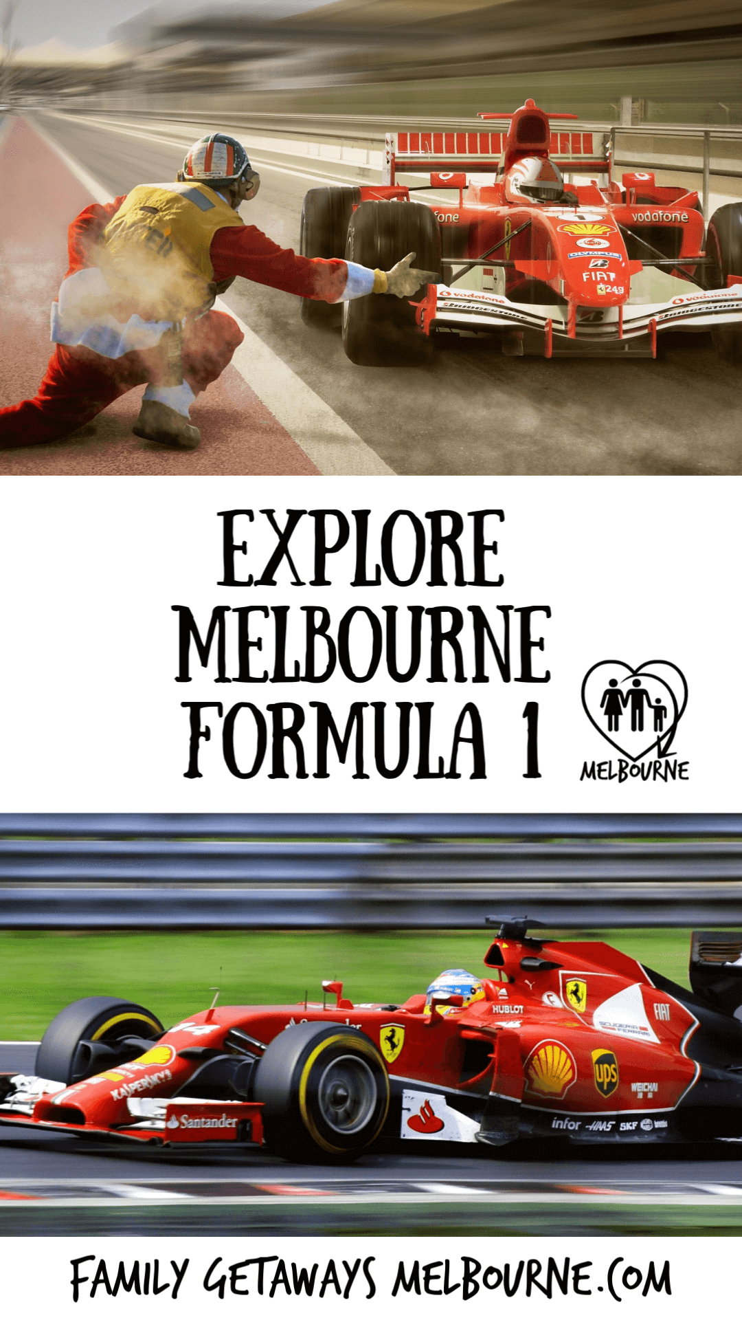 Explore Formula 1 racing in Melbourne to pin to Pinterest