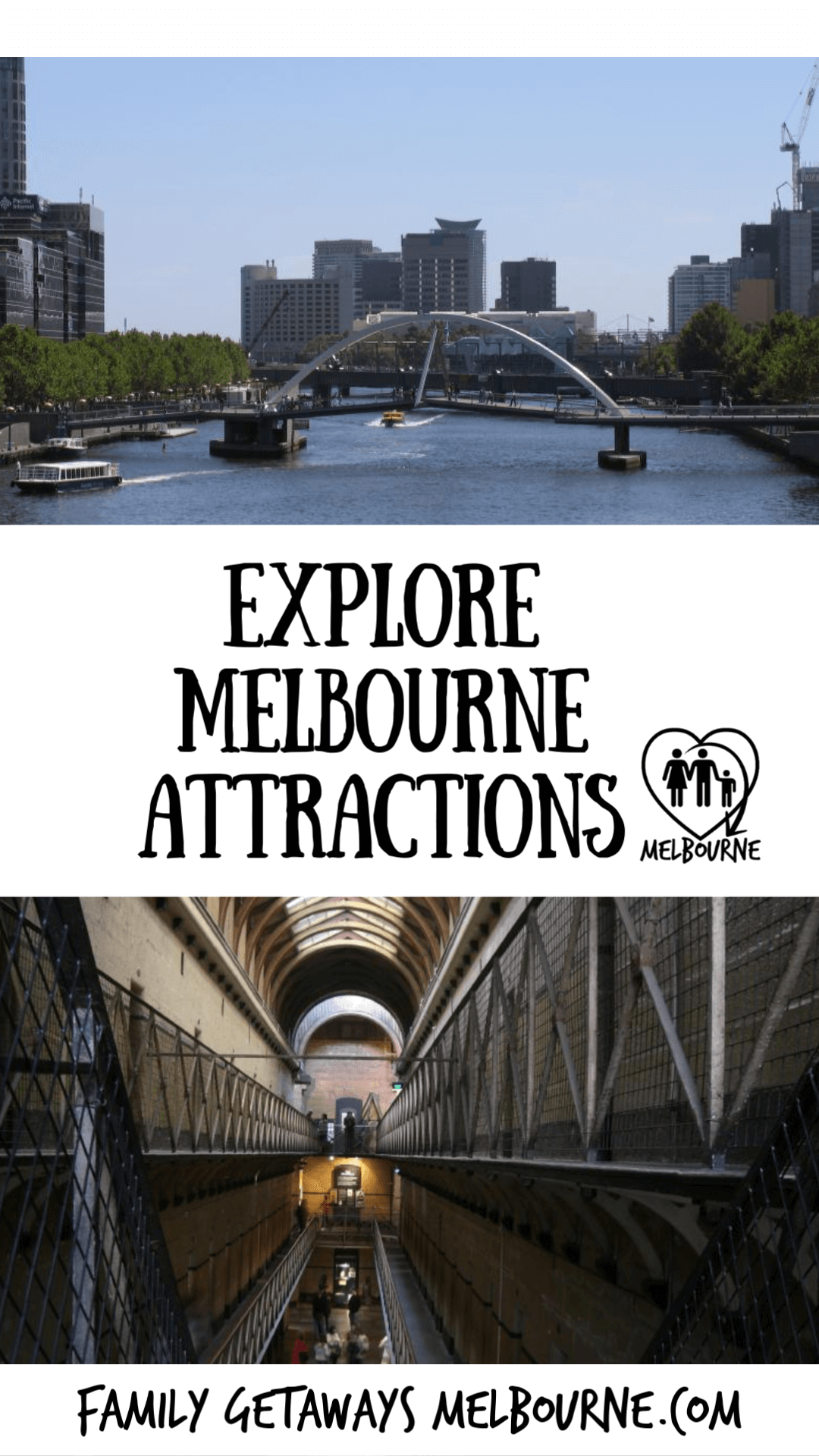 Melbourne Attractions Pinterest Pin