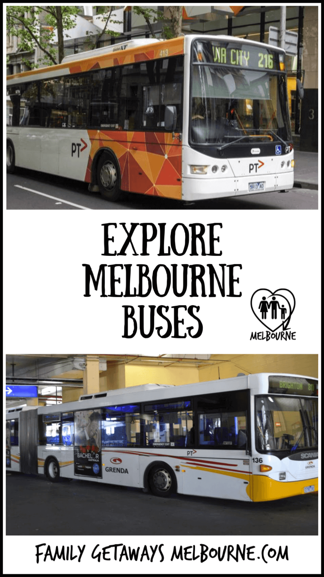 Melbourne Bus service is part of the public transport system for Melbourne and it's suburbs