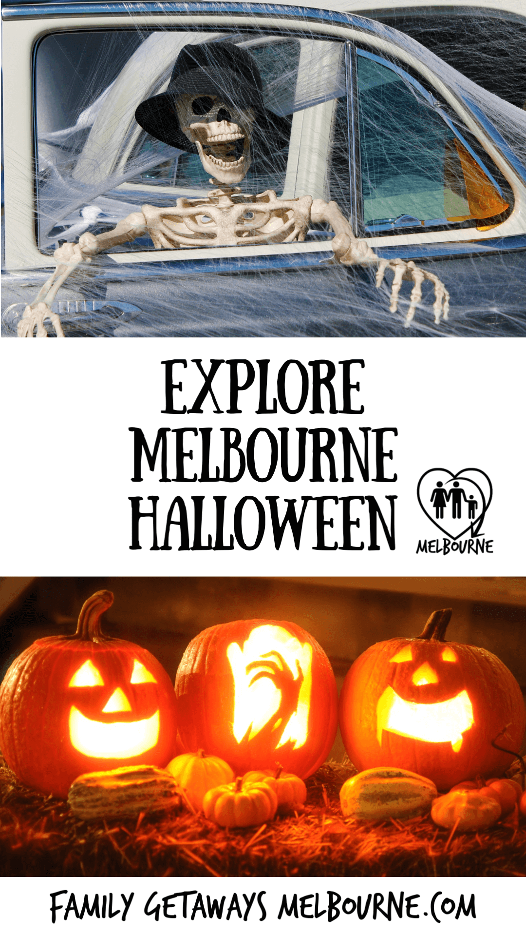 image to pin Pinterest for some great Halloween ideas and how Halloween is celebrated in Melbourne, Australia