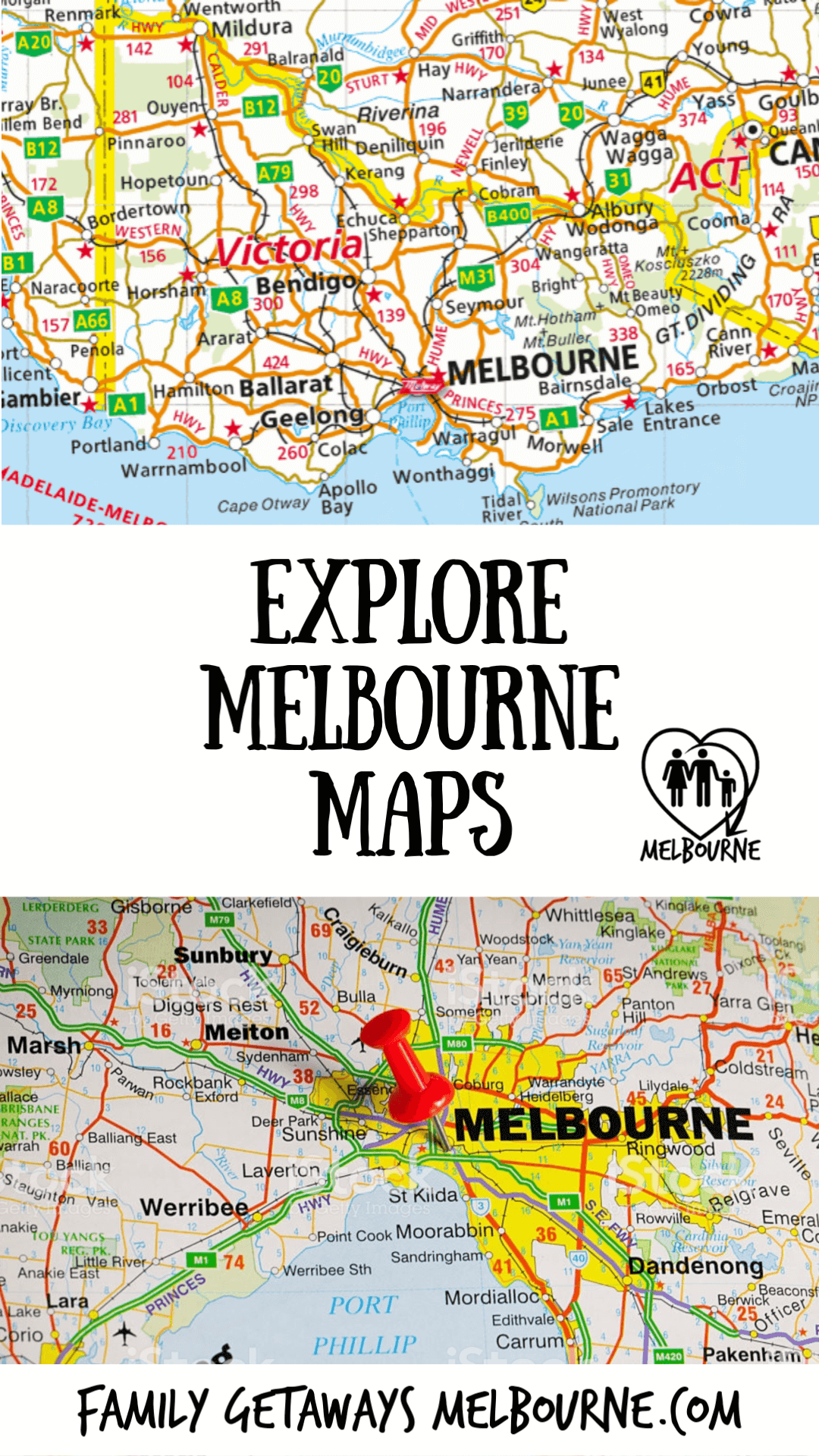 Getting around Melbourne with maps makes it so much easier