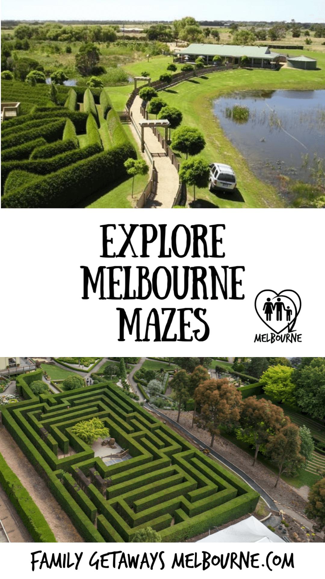 Maze gardens Pinterest pin