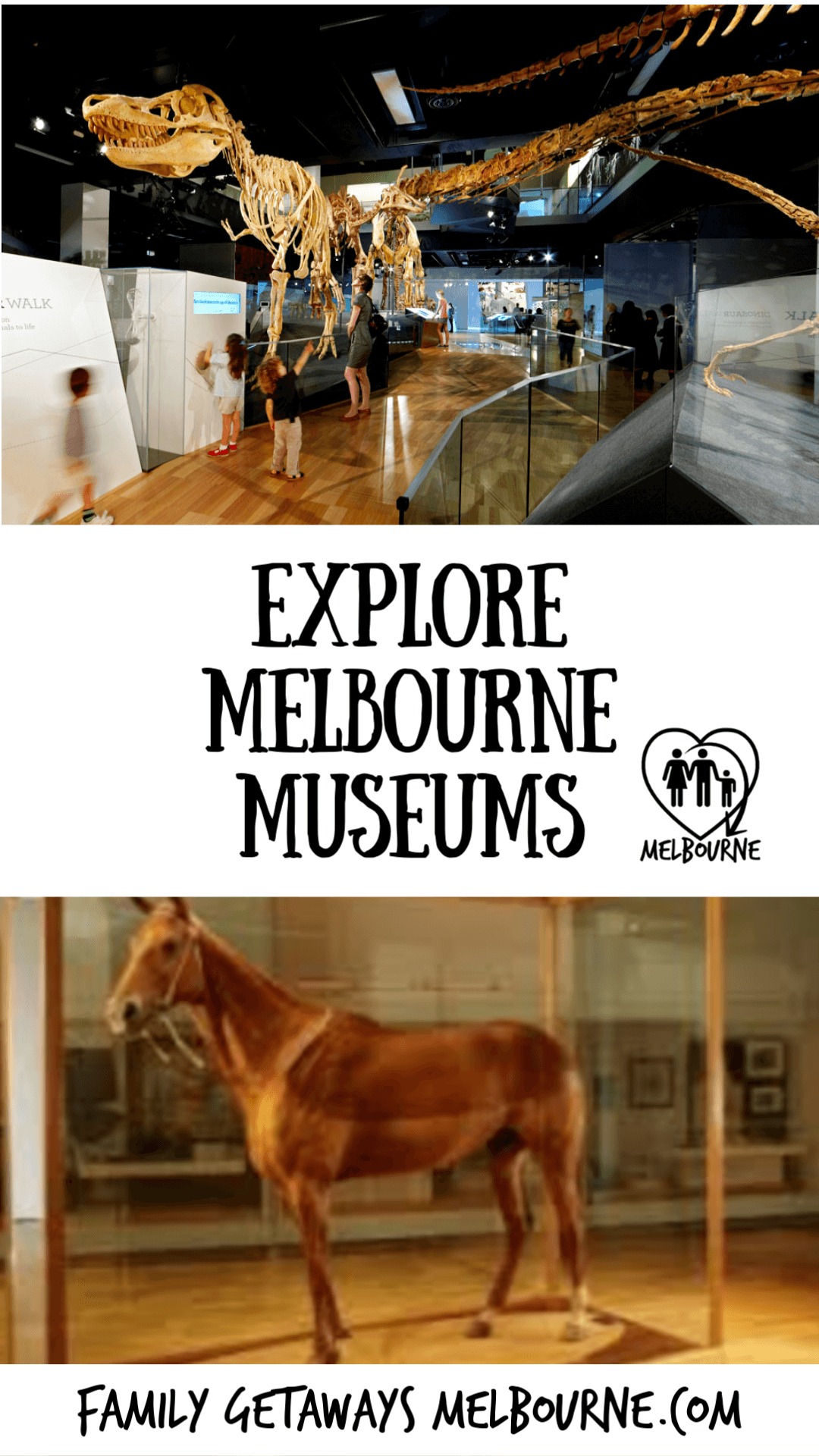 image to pin to pinterest for information on melbourne's museums