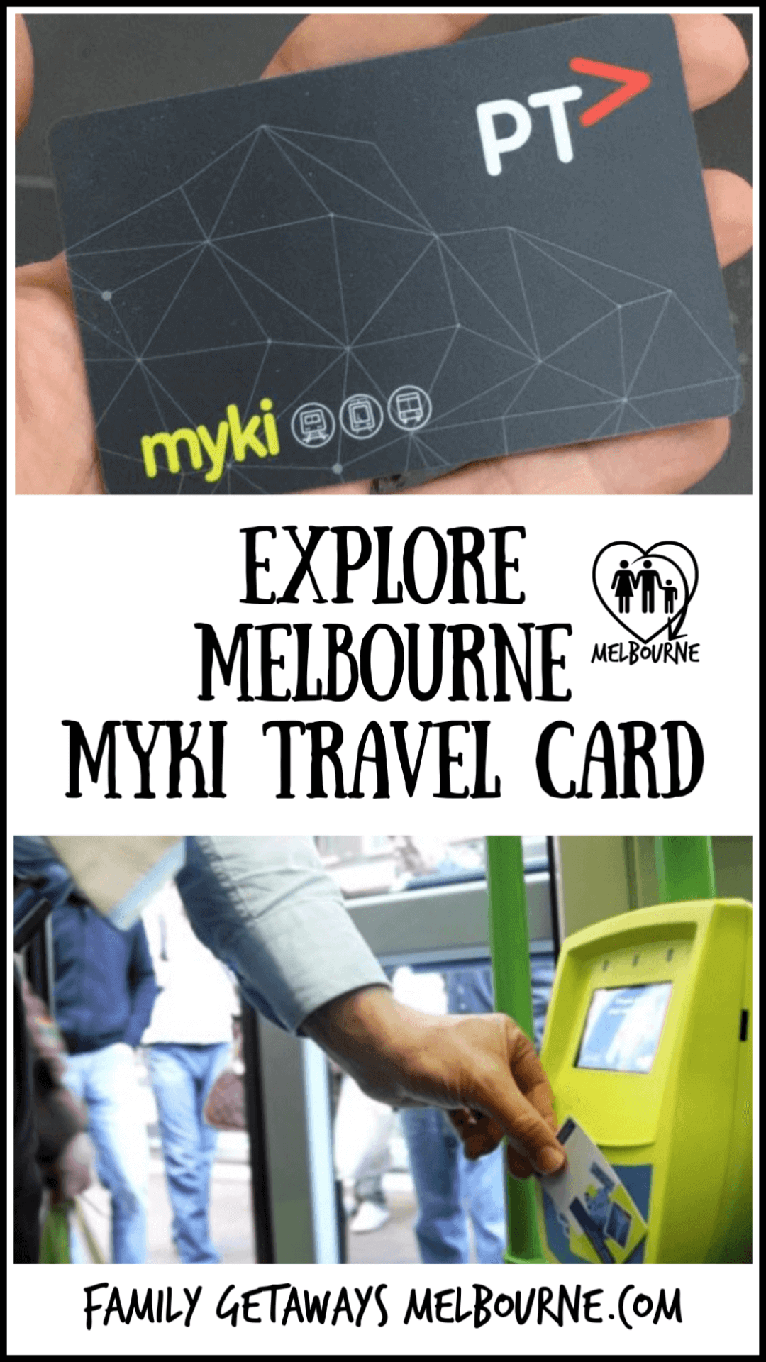 Myki card replaces the Metcard for the Melbourne Integrated Ticketing System