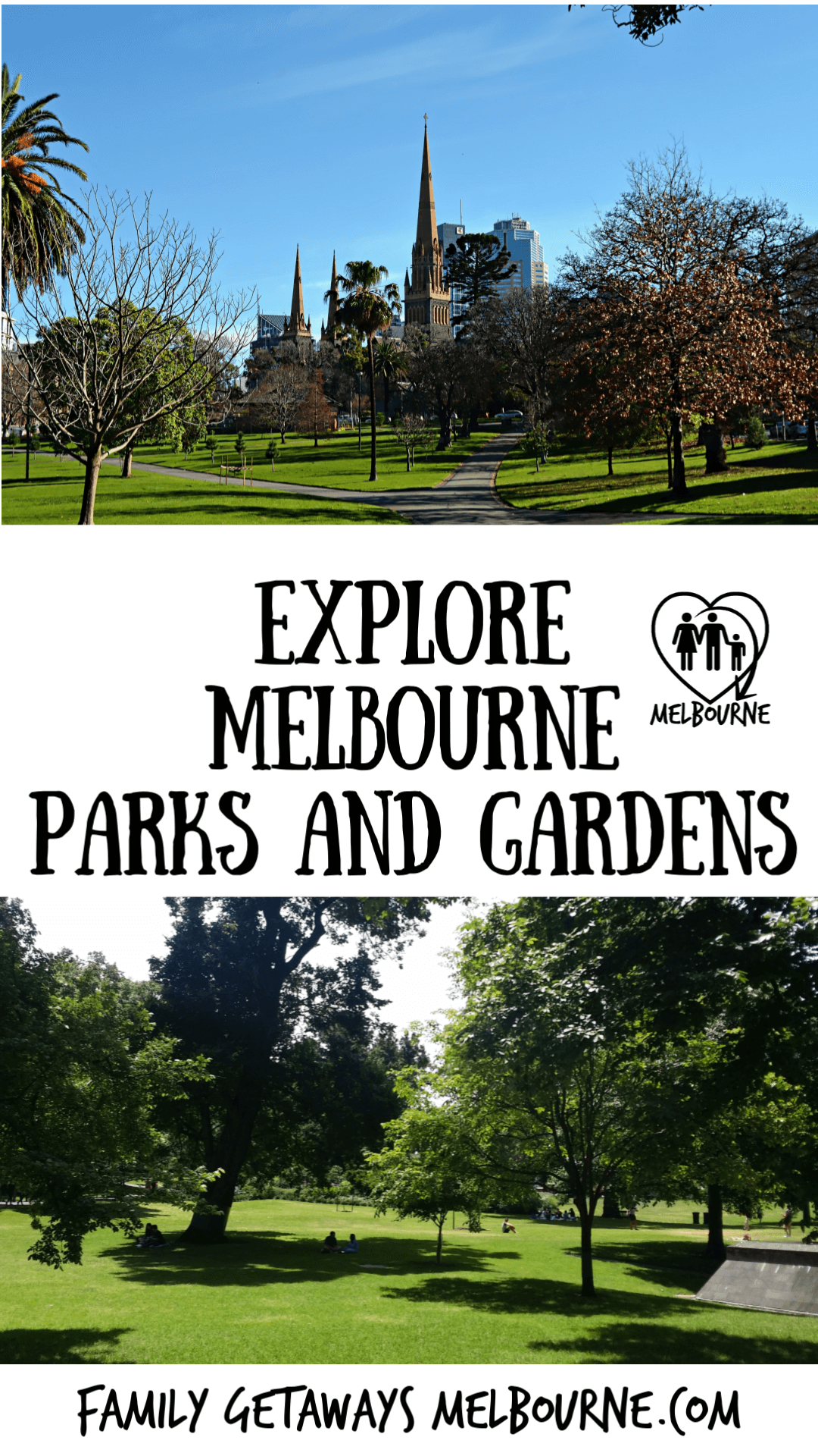 image of melbourne parks and gardens to pin to pinterest