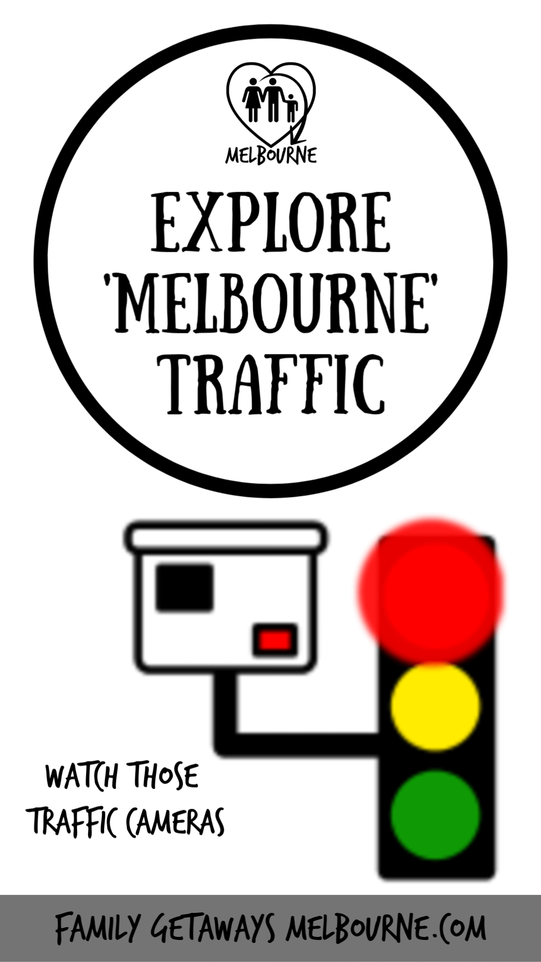 Image for information on Melbourne Traffic to pin to Pinterest