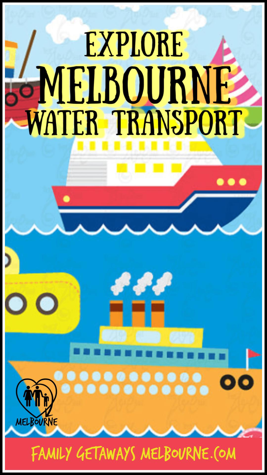 Information on water transport in Melbourne