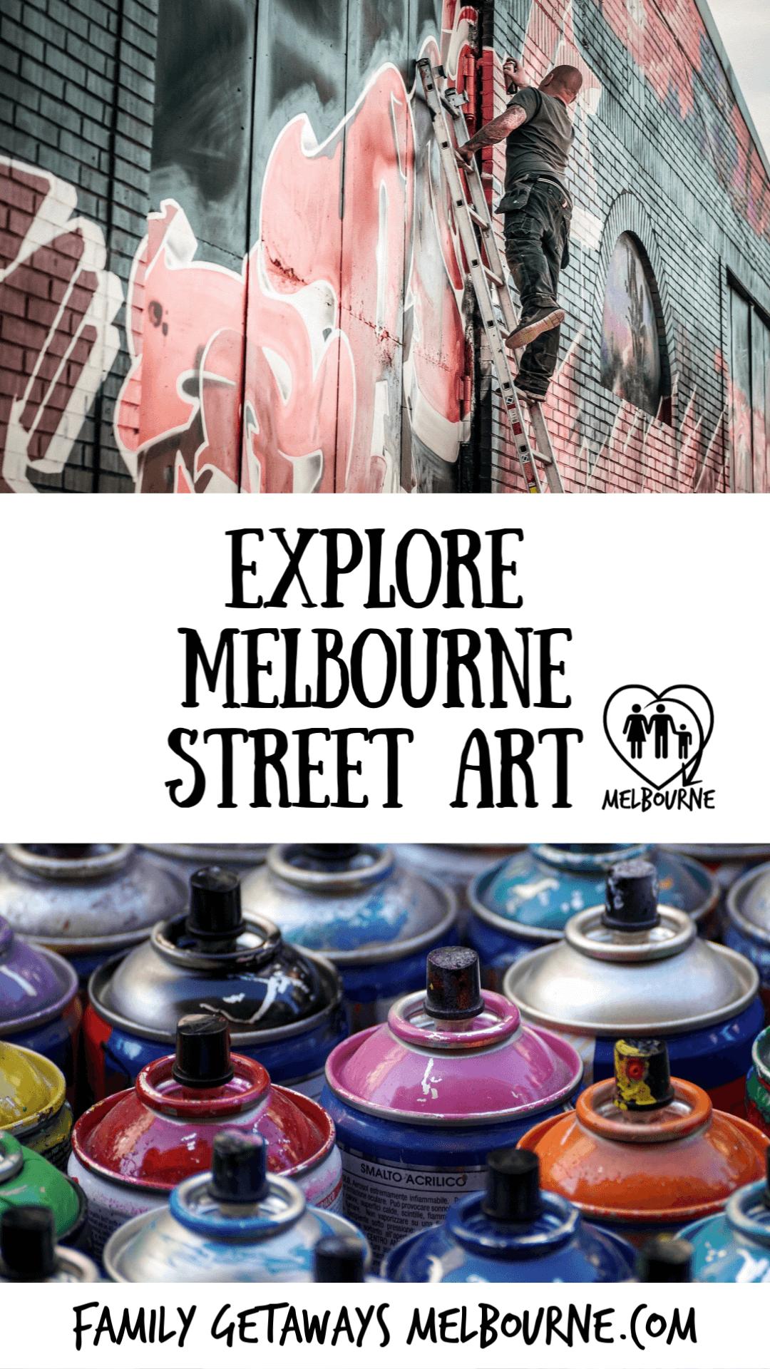 Pinterest Street Art in Melbourne pin