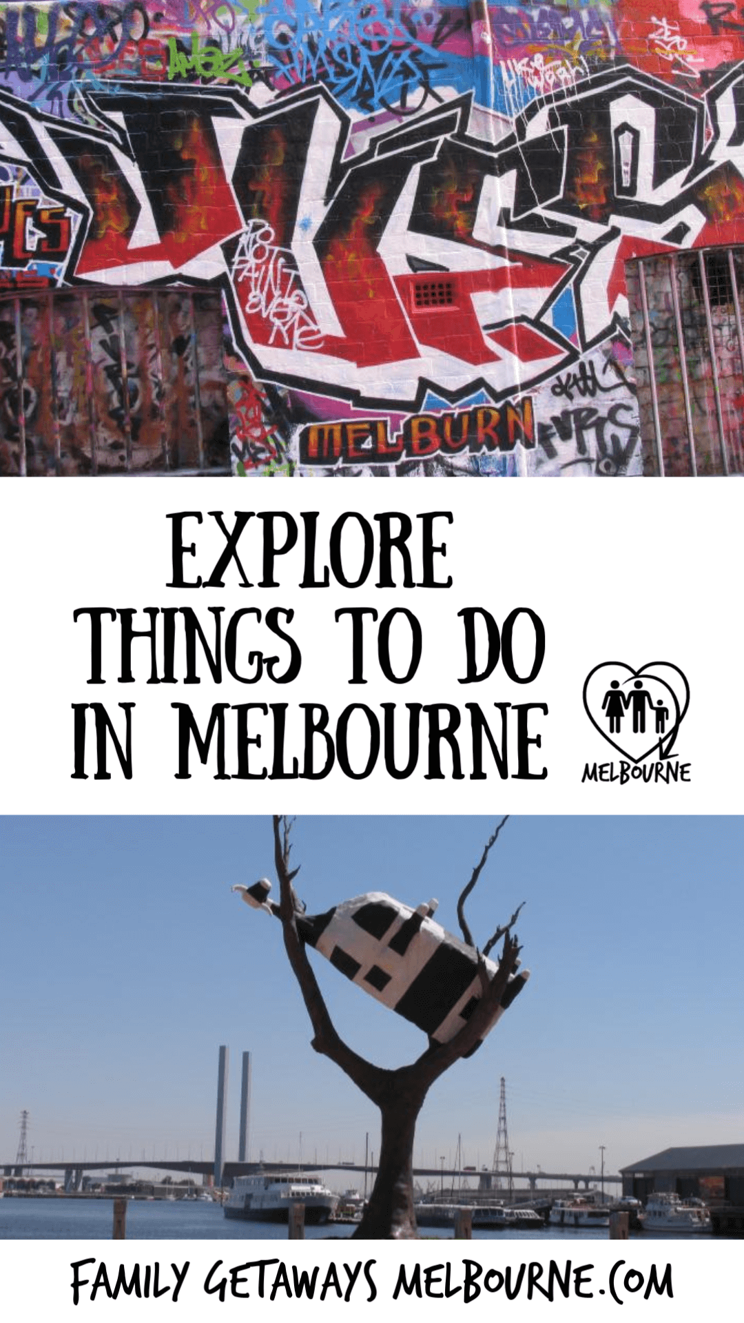 Things to do in Melbourne Pinterest pin