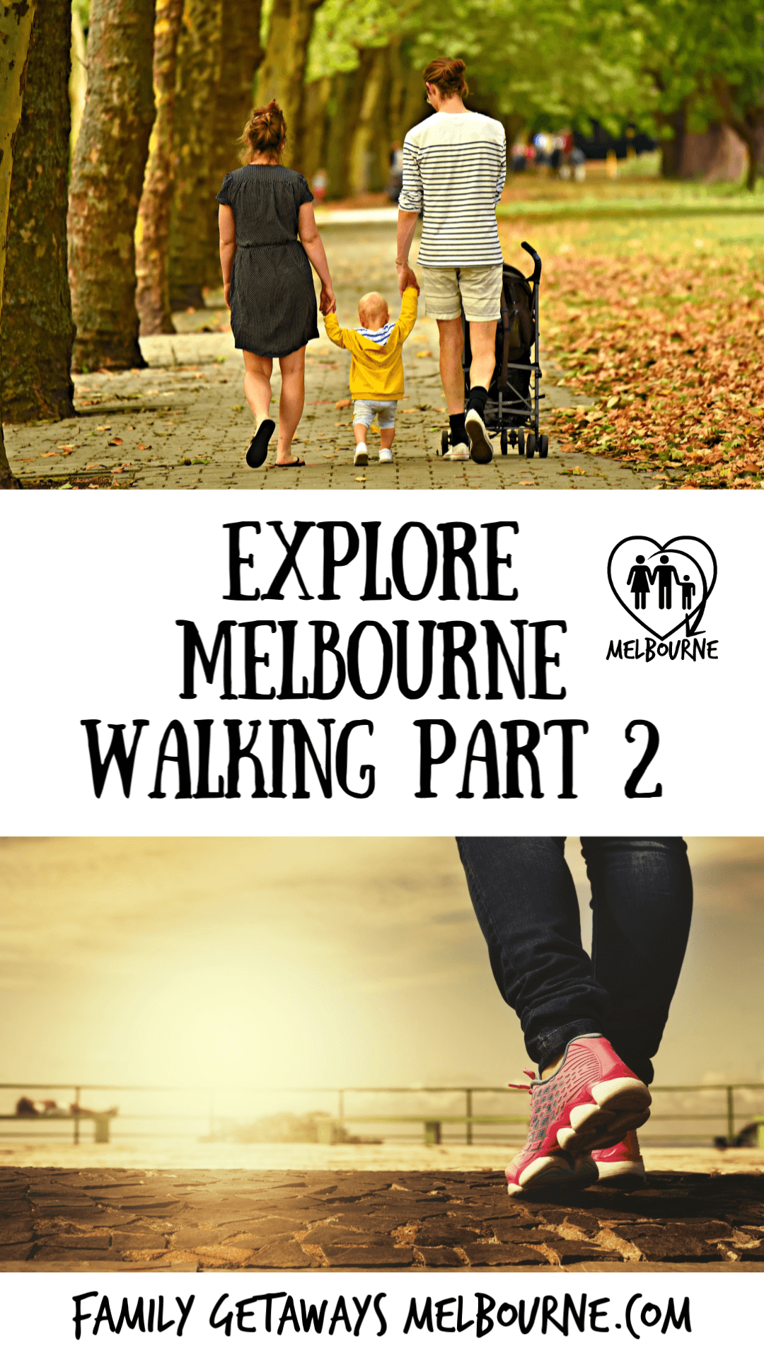 image to pin to pinterest for walking melbourne tours, part 2 of a 2 part section on exploring Melbourne, Australia