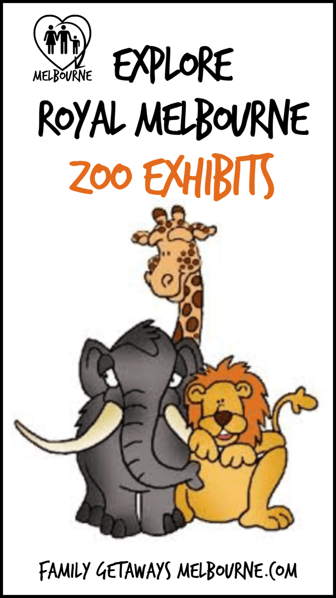 use this image to pin to Pinterest and share information on Melbourne's unique zoo exhibits