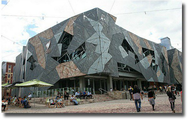 SBS Building Federation Square Melbourne Australia