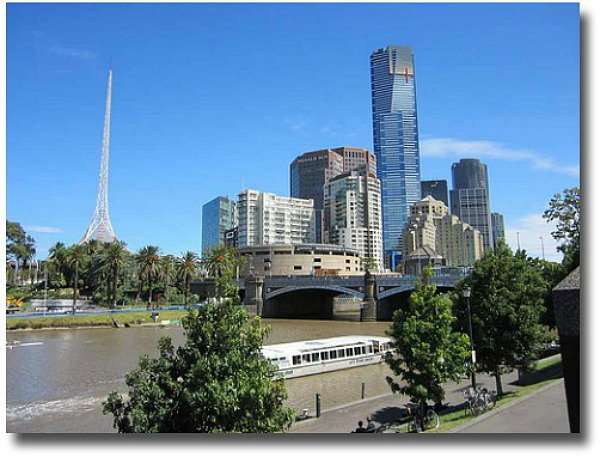 Ferry Wharf at Federation Square Melbourne, Australia compliments of http://www.flickr.com/photos/jupiterfirelyte/6946022541/