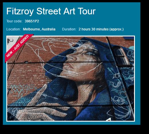 Viator Fitzroy Street Art Tour image