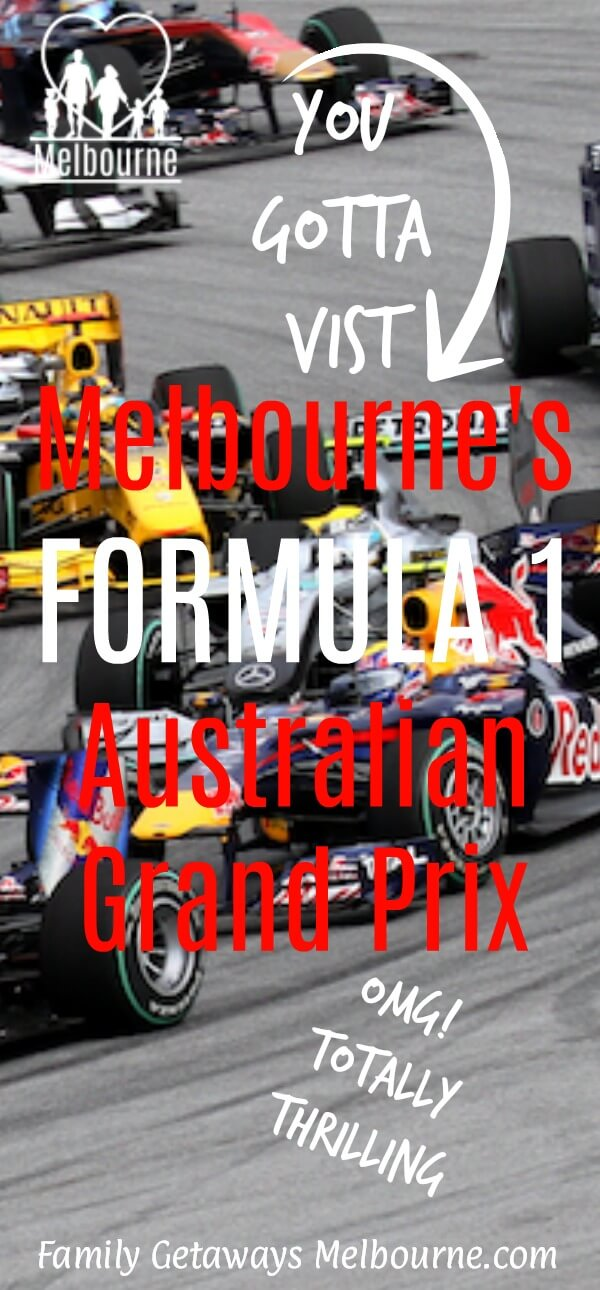 Image to pin to Pinterest for the Formula 1 Australian Grand Prix