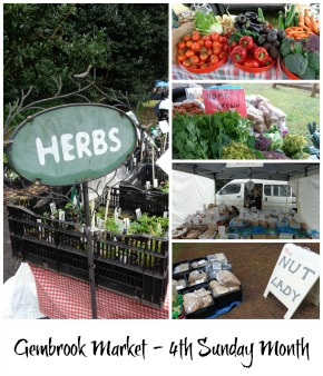 Graphic link to site page on the Gembrook Market