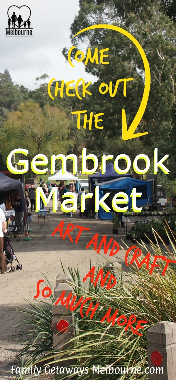 Image to pin to Pinterest for the site page on the Gembrook Market
