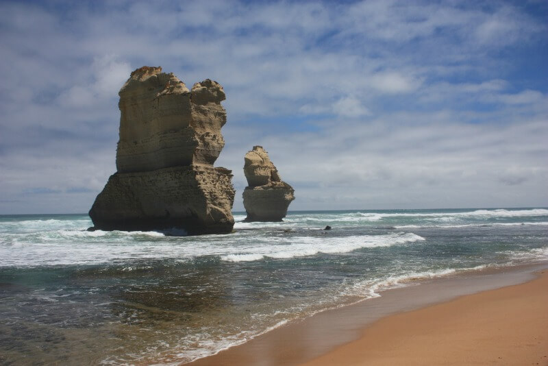 Part of the 12 Apostles on the Great Ocean Road
