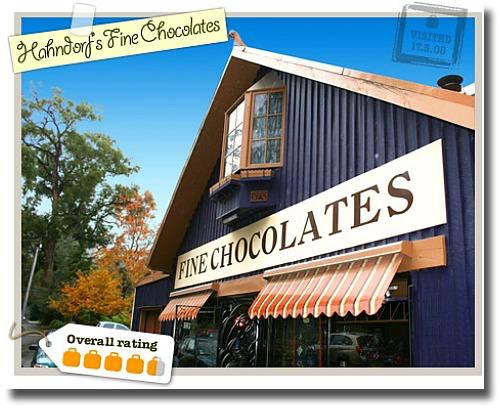 Hahndorfs Fine Chocolates Mt Dandenong