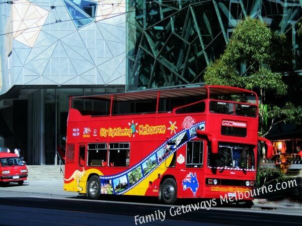Melbourne Visitor Hop On Hop Off Sightseeing Bus