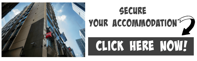 banner image linking to booking accommodation at the Ibis Melbourne