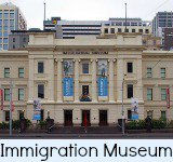 thumbnail image link to site page on the Immigration Museum in Melbourne