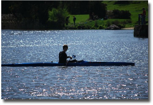 Kayak the Lillydale Lake in Melbourne Australia compliments of http://www.flickr.com/photos/avlxyz/4052844944/