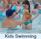 Page thumbnail graphic link to Kids Swimming