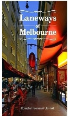 Melbourne's unique laneways book and map