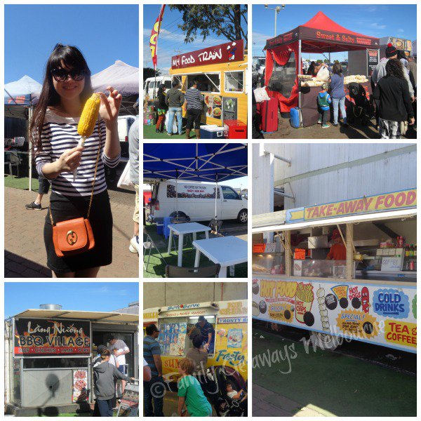Food Vans at the Laverton Market south west of Melbourne