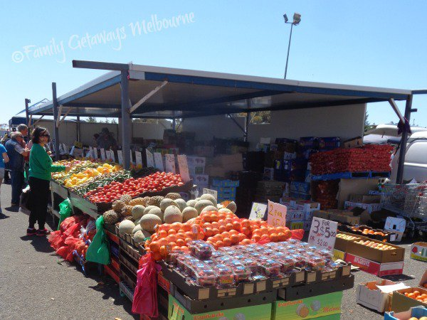 Fresh Fruit and Vegetables for sale at the Laverton Market in Victoria, Australia