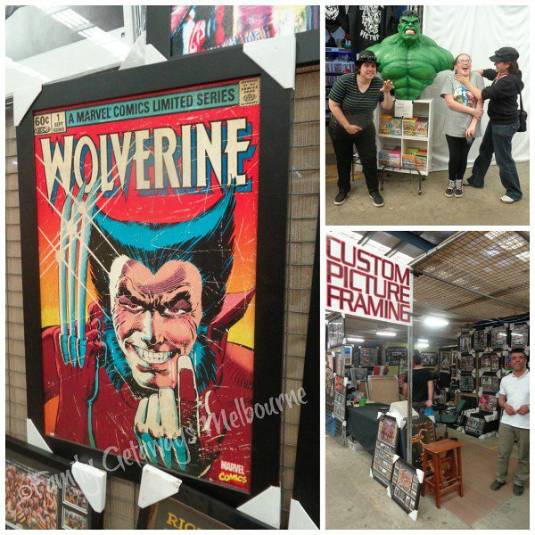 Monsters and movie memorabilia at the Laverton Market