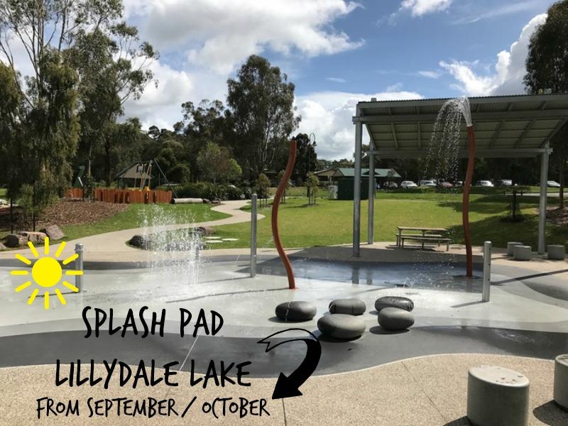 lillydale lake splash pad