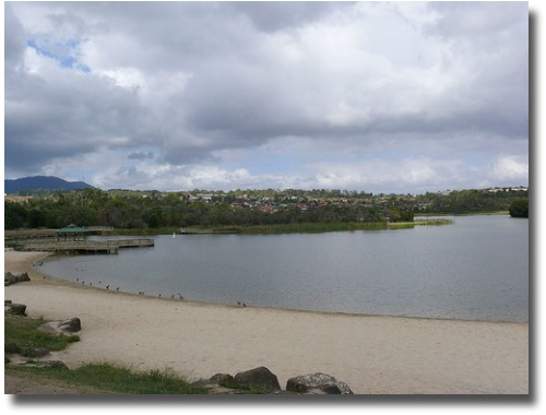 Lillydale Lake in Melbourne Australia compliments of http://www.flickr.com/photos/kerfern/424757861/