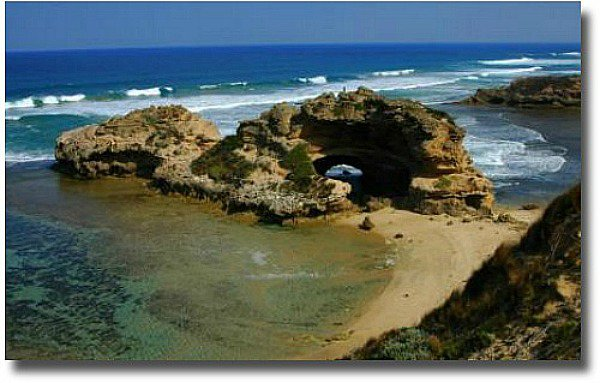 London Bridge Portsea back beach Melbourne Australia