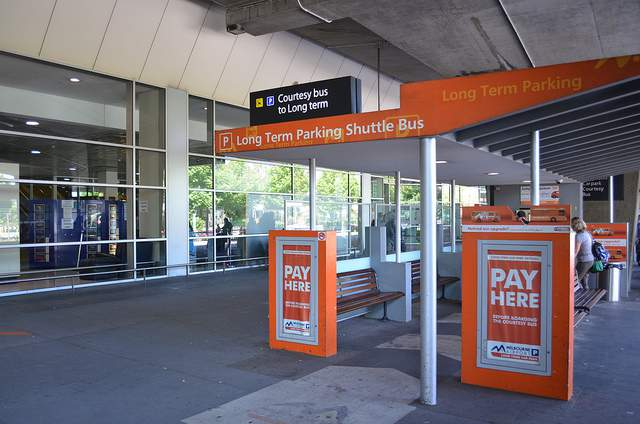 Long Term Car Parking Waiting Area Melbourne airport