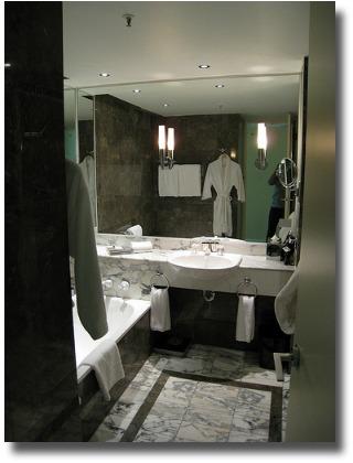 Grand Hyatt bathroom compliments of http://www.flickr.com/photos/_lulu/2947953893/