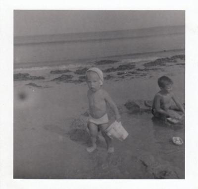 At Old Orchard Beach, Maine in 1959