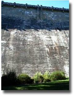 Marondah Dam Retaining Wall