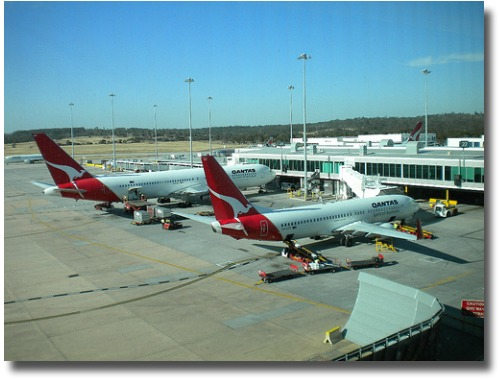 Melbourne Airport, Melbourne Australia compliments of http://www.flickr.com/photos/mikecogh/4114065815/