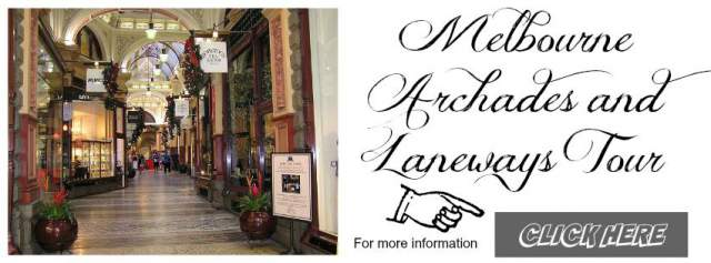 Banner for the Viator Archades and Laneway tour