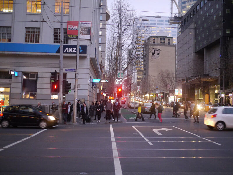 Hook turn lane in Melbourne Australia compliments of https://flic.kr/p/psWsdf